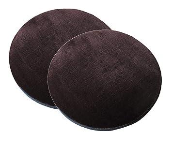 Amazon Com Sigmat Plush Round Bar Stool Pad Soft Chair Cushion With