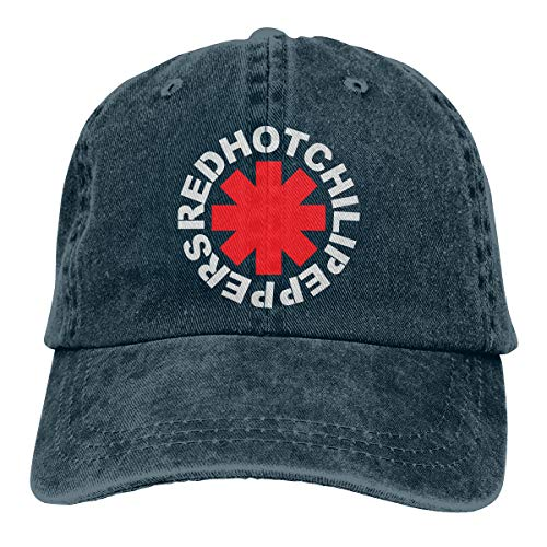 MountGet Red Hot Chili Peppers Adult Retro Adjustable Cowboys Cap&Hats Navy