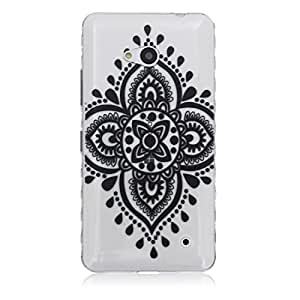 lumia 640 Case,Nokia Lumia 640 Case,OYYC [Flower Mandala] [AIR CUSHION] Wave pattern Ultra-thin Anti-skid TPU series Scratch-Proof Case for Microsoft Nokia Lumia 640 Case