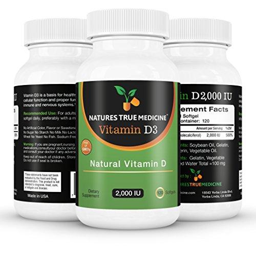Витамин D3 2000IU, 100% Pure, Premium Quality. Количество 1 Лучший Витамин D добавки доступны в Интернете сегодня. Жидкость Витамин капсула D 120 капсул. 100% натуральные ингредиенты, без искусственных цветов, не стеарат магния или другие дешевые и вредны