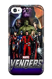 SaundraVillard HDQ-5003kAUOxdfU Case Cover Skin For Iphone 4/4s (the Avengers 2)