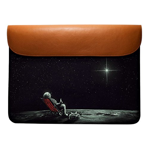 Pro Real Macbook 13 Sleeve Leather Chill For Astronaut Envelope DailyObjects Air SHawFxzaq