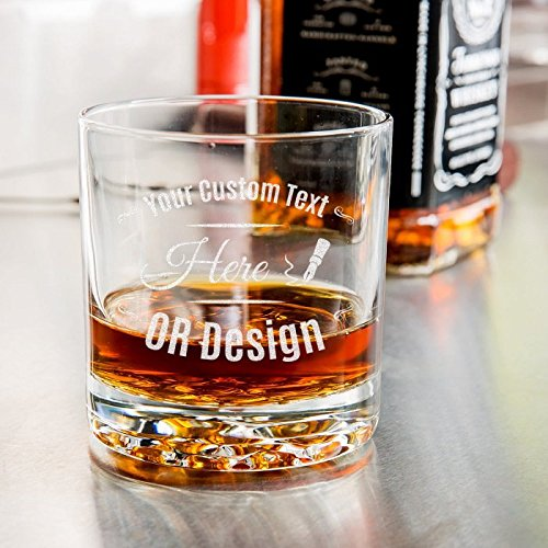 Old Hill Fashioned Nob (Personalized Libbey Nob Hill Rocks/Old Fashioned Glass)