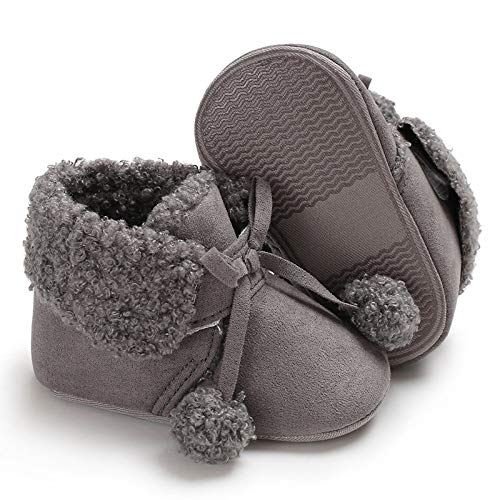 Sabe Winter Newborn Unisex Baby Girls Boys Velvet Rubber Sole Anit-Slip Shoes Prewalker Boots