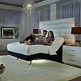 """2018 Prodigy Comfort Elite (Lumbar & Individual Pillow-tilt) with Nature Sleep Mattress (King, 14"""" Plush)"""