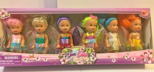 Mini Fairy Angels Collection- 6 Fairy Angel Dolls