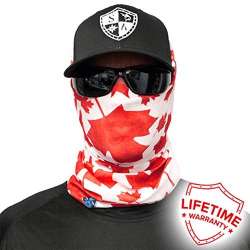 Salt Armour Face Mask Shield Protective Balaclava Bandana MicroFiber Tube Neck Warmer - Canada