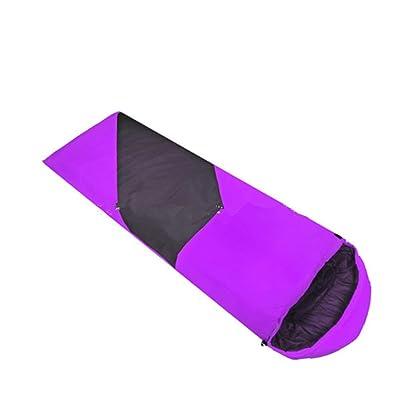 SHUIDAI Sacs de couchage pour camping/plein air , purple , (180+30) *75cm