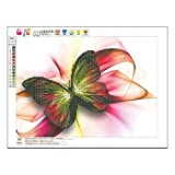 Liobaba DIY Embroidery Diamond Painting Charming Butterfly Pattern Cross Stitch Home Bedroom Living Room Wall Decoration Picture