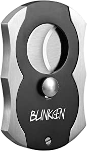 Blinkeen® Cigar Cutter-Stainless Steel and Kirsite Cigar Cutters-Double Blade Guillotine