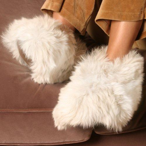 Alpakka Tøfler Små Hvite