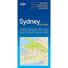 Lonely Planet Sydney City Map 1st Ed.
