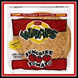 Father Sam's Bakery | Case Pack 18 Bags | 144 10'' Sun-Dried Tomato Wraps