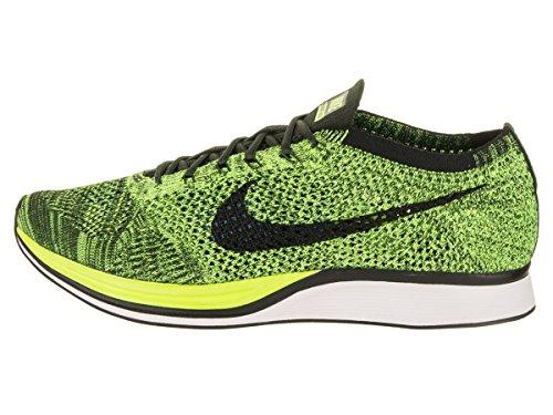 sequoia volt Nike Chaussures De black Homme Verde Running Racer Flyknit verde Entrainement qwqZzfPC