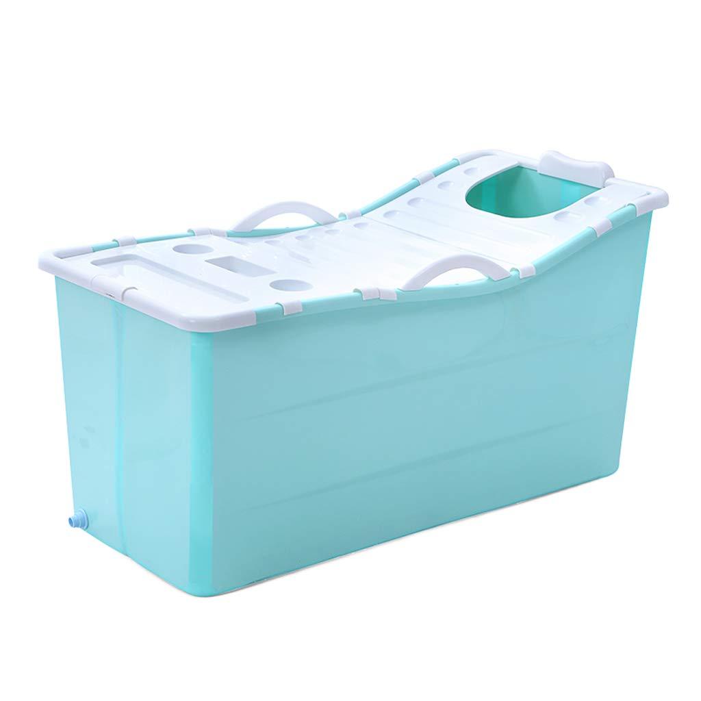 Adult Folding Bathtub Plastic Baby Swimming Pool Children Bath Barrel Household Large Portable tub by TIANTA