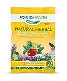 SoundHealth Natural Herbal Cough Drops,Lozenge,Cough Suppressant, 9 Bags, 50 per Bag, 450 Total Cough Drops