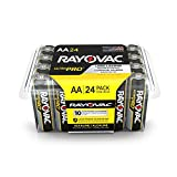 RAYOVAC AA Ultra Pro Alkaline Batteries, 24-Pack with Recloseable Lid, ALAA-24PPJ