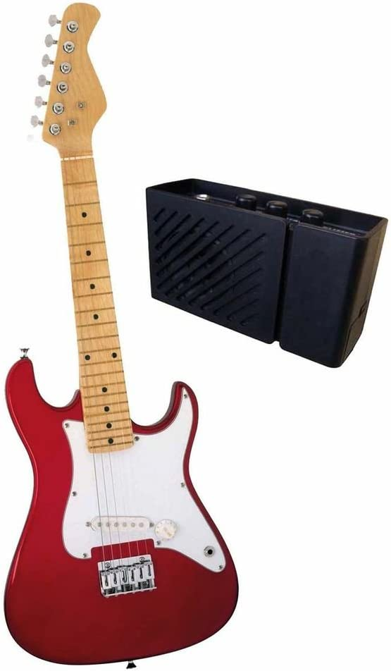 Ready Ace - Guitarra eléctrica con Amplificador: Amazon.es ...
