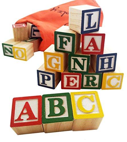 Wooden Alphabet Set - 8