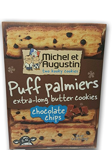 Michel et Augustin Puff Palmiers Chocolate Chips 4.23 oz