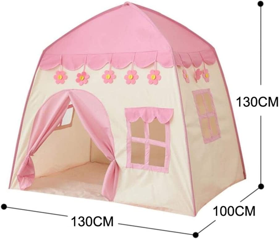 LOGO YHJJ Infantil Cubierta Tienda Y Castillo al Aire Libre Princesa Play House sobredimensionada Portátil (Color : Blue Tent) Blue Tent