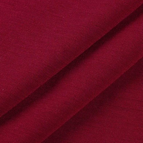 Robe Rouge Bohme Femme Robes Cocktail de de Off Sundress Plage GreatestPAK Court Gland paule OrgTqHfO