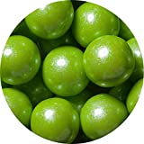 Sweetworks Gumball Shimmer, Lime Green, 2 Pound
