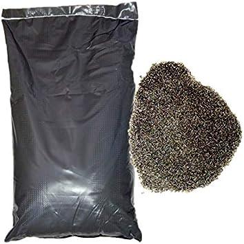Lordsworld - Loppa - 25 Kilogramos 0,2-0,8Mm Polen de arena abrasiva para chorro de arena - arena abrasiva para pelar - Escoria de cobre - Polen-02-08