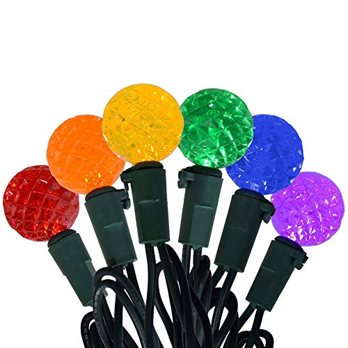 100 Led C 5 Holiday Christmas Lights in US - 4