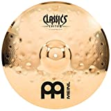 Meinl 16'' Crash Cymbal - Classics Custom Extreme Metal - Made in Germany, 2-YEAR WARRANTY (CC16EMC-B)