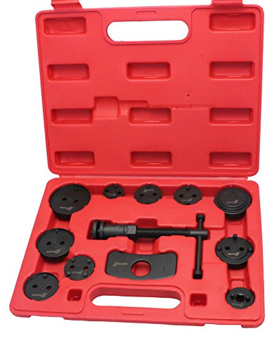 Motivx Tools 12 Piece Brake Caliper Wind Back Tool Set for Disk Brake Pad Replacement (Electric Auto Mechanic Tools compare prices)
