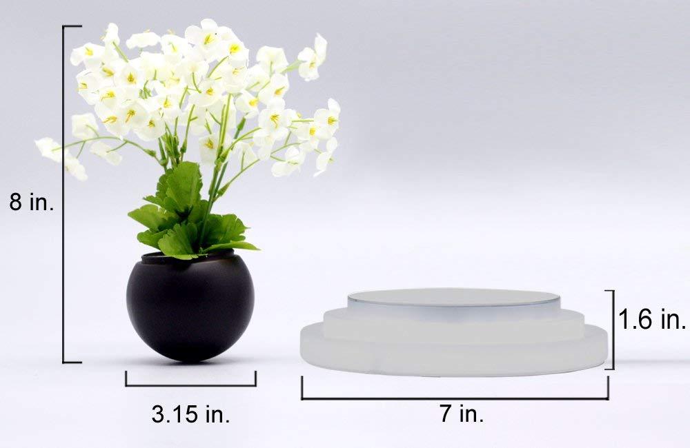 Kích thước cơ bản của chậu hoa từ trường trên không