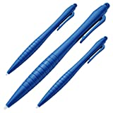 TakeCase - 3 Extra Large Stylus Pens for New Nintendo 3DS XL, 3DS, 2DS and Wii u - 3 Pack (Blue)