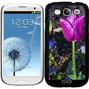 Funda para Samsung Galaxy S3 (GT-I9300) - Tulipanes De Color Púrpura by loki1982