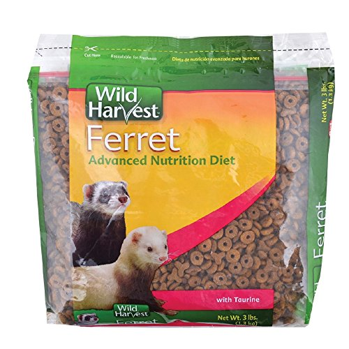 (Wild Harvest Advanced Nutrition Diet For Ferrets, 3-Pound)