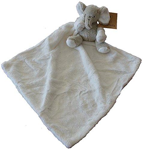 La Galleria - Doudou Elephant avec couverture en mains - 48 cm - IGG-0404