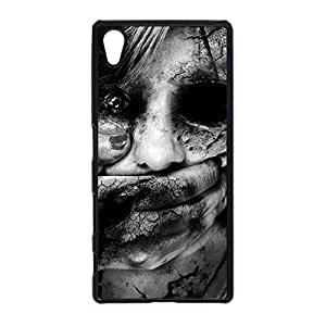 Sony Xperia Z5 Phone Case Horror Bloody Pattern Design Cover Case for Sony Xperia Z5 Afraid Back Case