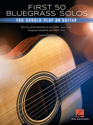 First 50 Bluegrass Solos You Should Play on Guitar: Amazon.es ...