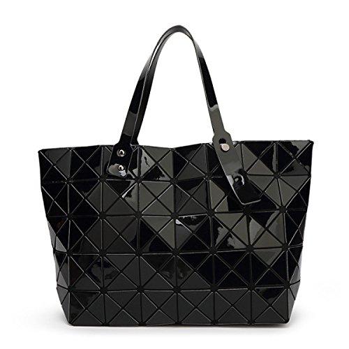 à en Sacs géométriques en black 6cm tout fourre 28 Strawberryer cuir sac main à 10 femmes Sacs bandoulière Pliage 43 PpYwnq5x