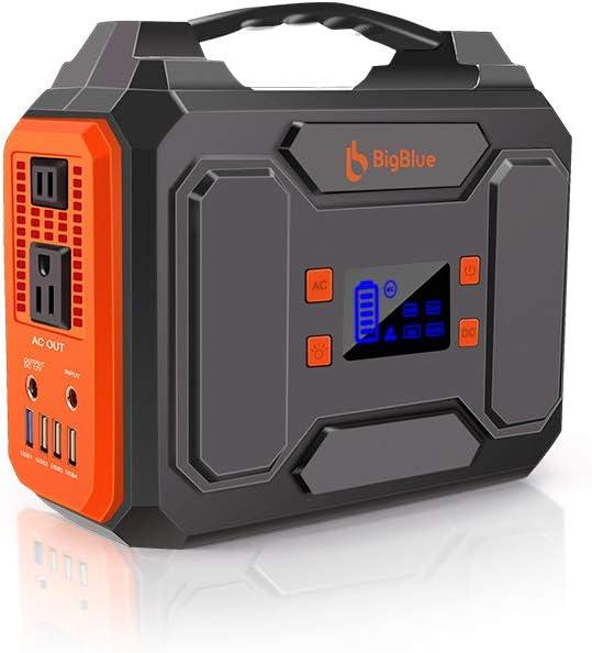 BigBlue  250Wh AC出力200W ポータブル電源