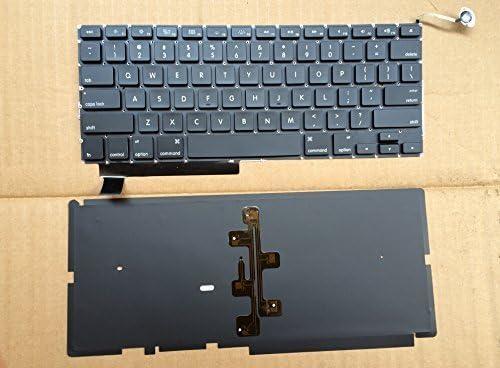 Sierra Blackmon Leone Black Mongolia a Backlit Keyboard Apple A1286 Notebook Wholesale Laptop Keyboard(Gift Screw)