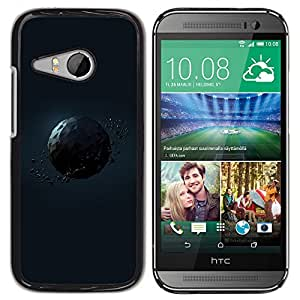 Planetar® ( Polygon Planet ) HTC ONE MINI 2 / M8 MINI Fundas Cover Cubre Hard Case Cover