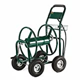 Generic Yard w/ Basketden Heavy Du Cart 300 FT Outdoor Green Water Garden Heavy Hose Reel Duty Yard w/ Basket Green Water