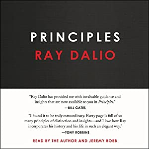 by Ray Dalio (Author, Narrator), Jeremy Bobb (Narrator), Simon & Schuster Audio (Publisher) (219)  Buy new: $27.99$26.95