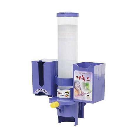 upit (dispensador de vasos de papel + té verde + café Stick)