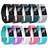 AIUNIT Fitbit Charge 2 Bands, Fitbit Charge 2 Accessory...