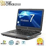 【Microsoft Office2010搭載】【Windows 7搭載】NEC VersaPro VK16 /Celeron 1.60GHz/メモリ 2GB/HDD 160GB/15.6インチ 大画面/無線LAN/DVD/中古ノートパソコン