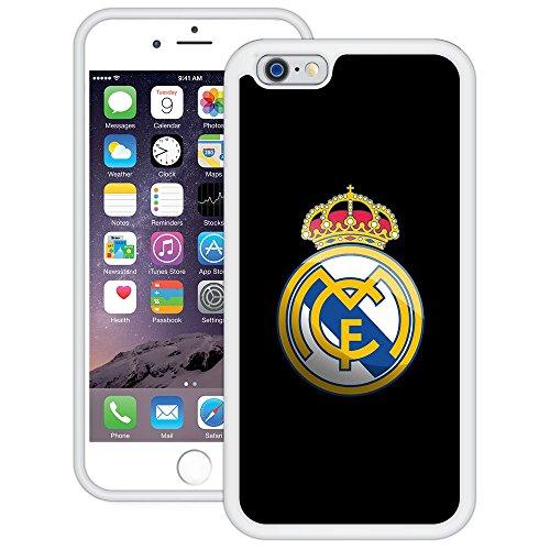Real Madrid | Handgefertigt | iPhone 6 6s (4,7') | Weiß TPU Hülle