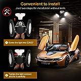 Garage Light 60W Led Garage Lights 4000K Ceiling