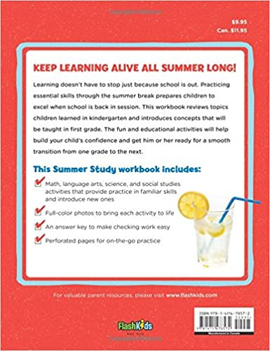 Summer Study: For the Child Going into First Grade: Flash Kids ...